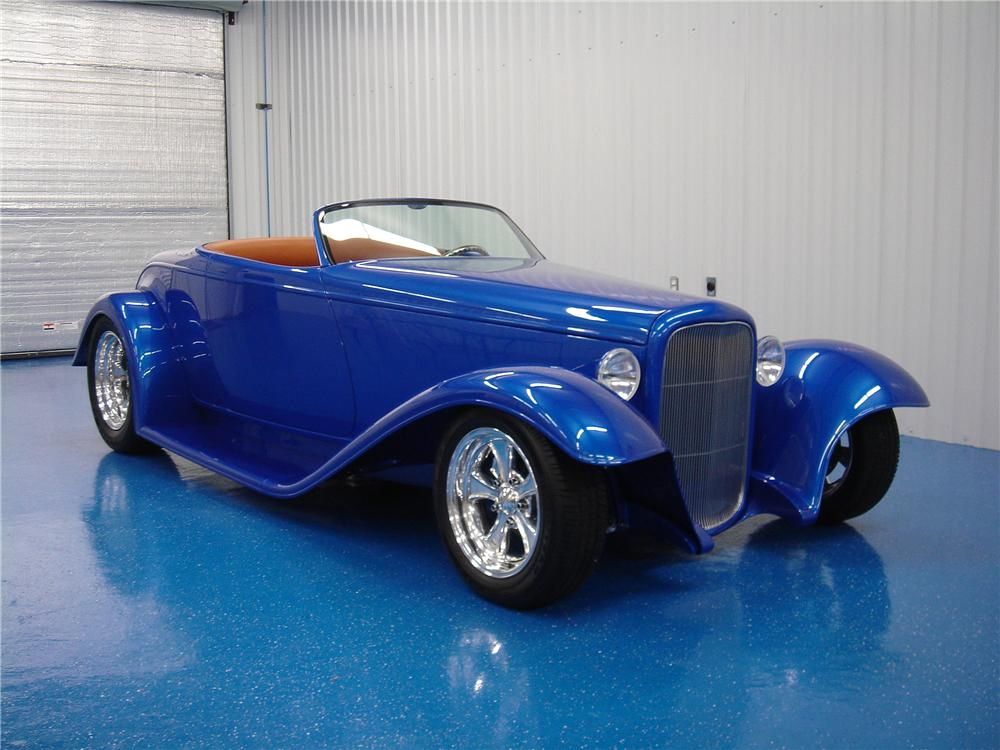 1932 FORD BOYDSTER II ROADSTER - Front 3/4 - 44004