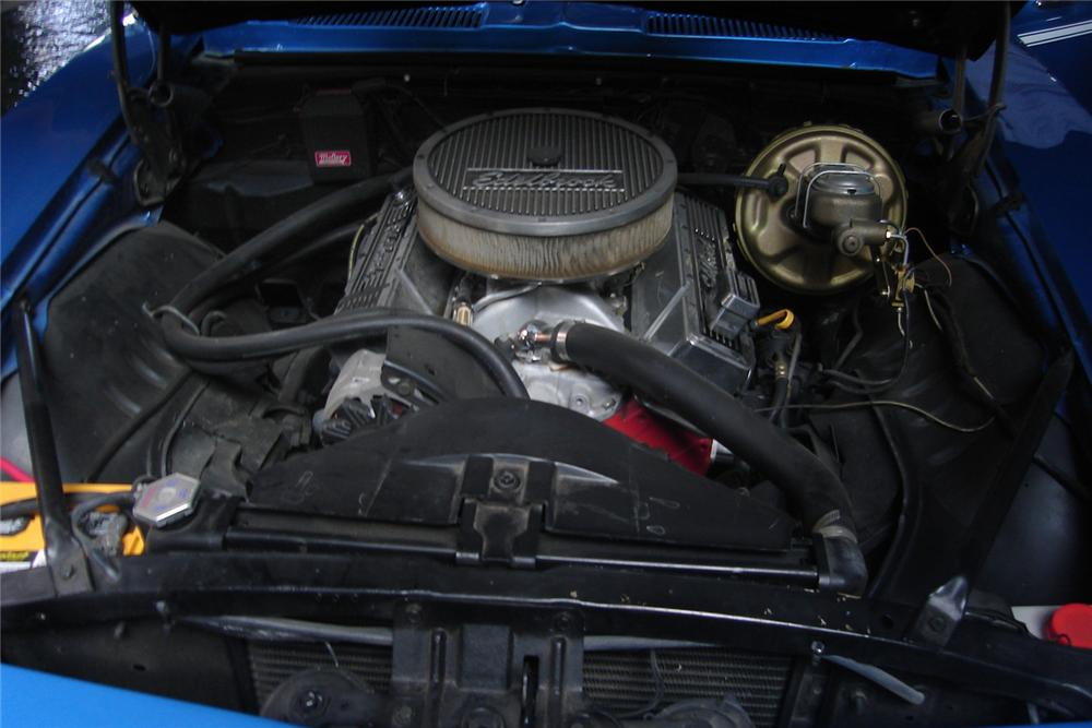 1969 CHEVROLET CAMARO SS COUPE - Engine - 44009