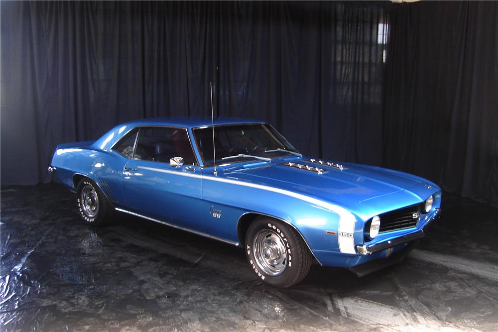 1969 CHEVROLET CAMARO SS COUPE - Front 3/4 - 44009
