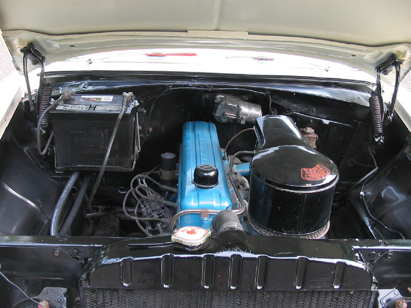1956 CHEVROLET 210 BEAUVILLE WAGON - Engine - 44011