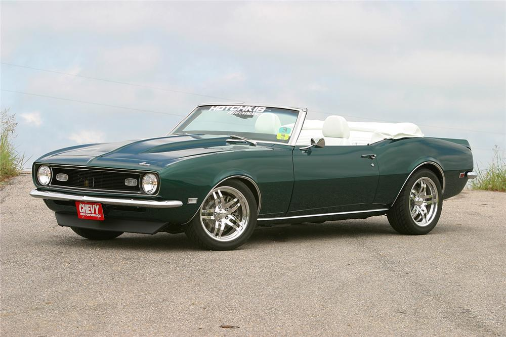 1968 CHEVROLET CAMARO CUSTOM CONVERTIBLE - Misc 1 - 44012