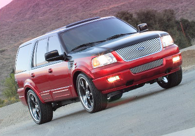 2006 FORD EXPEDITION CONCEPT SUV - Front 3/4 - 44021