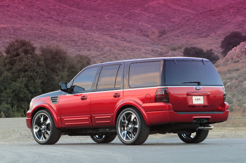 2006 FORD EXPEDITION CONCEPT SUV - Rear 3/4 - 44021
