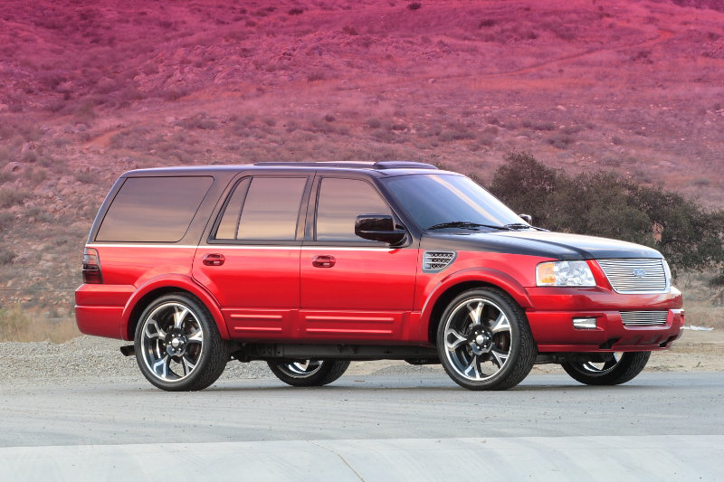 2006 FORD EXPEDITION CONCEPT SUV - Side Profile - 44021