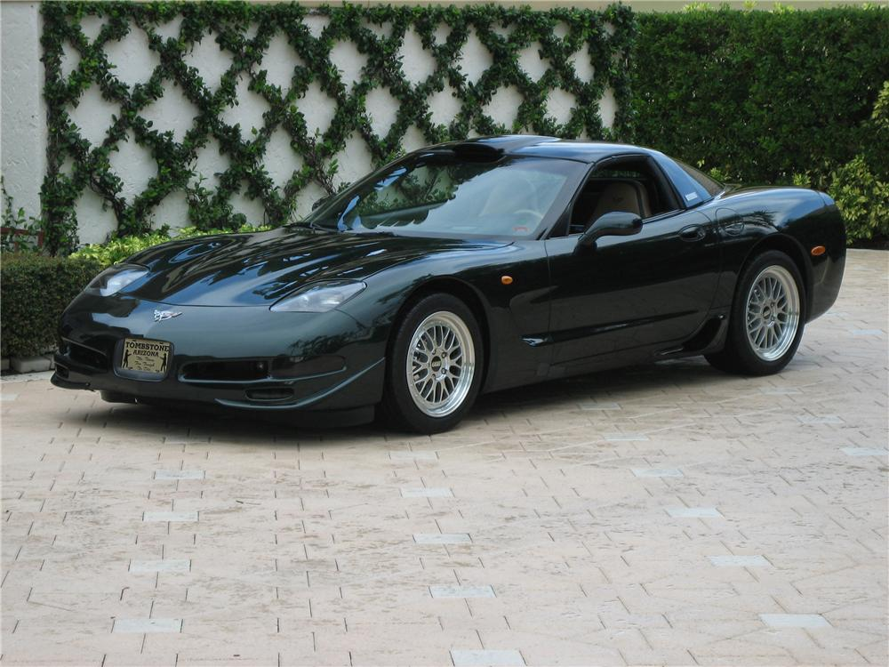 2000 CHEVROLET CORVETTE 427 LINGENFELTER TWIN TURBO COUPE - Front 3/4 - 44023