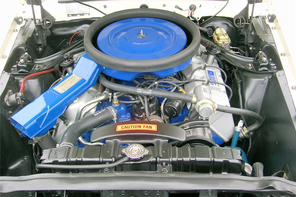 1969 FORD MUSTANG BOSS 429 FASTBACK - Engine - 44034