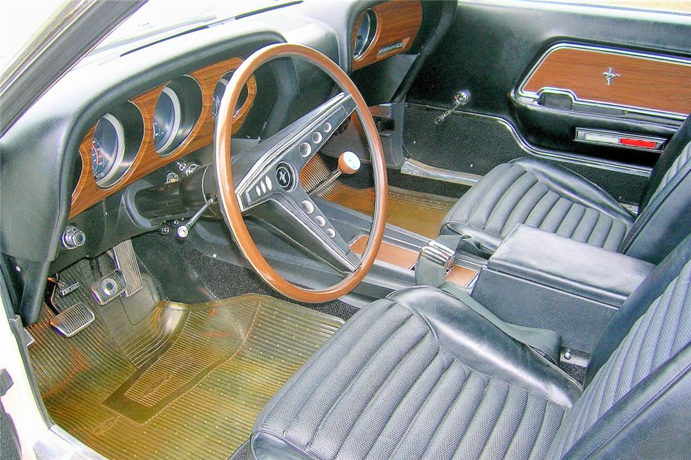1969 FORD MUSTANG BOSS 429 FASTBACK - Interior - 44034