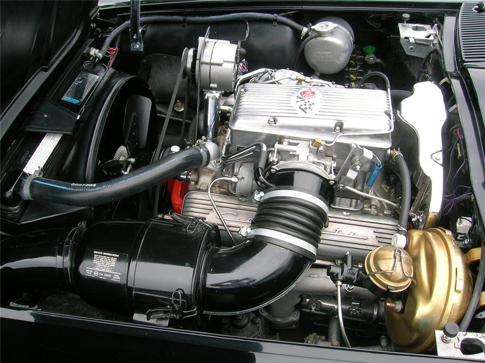 1964 CHEVROLET CORVETTE FI COUPE - Engine - 44036