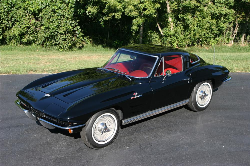 1964 CHEVROLET CORVETTE FI COUPE - Front 3/4 - 44036