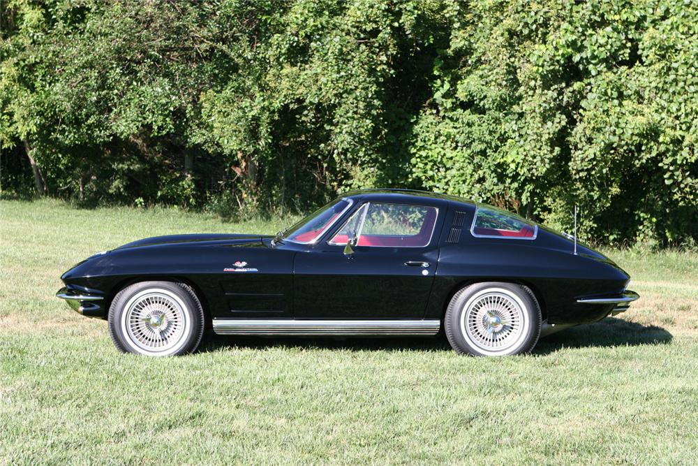 1964 CHEVROLET CORVETTE FI COUPE - Side Profile - 44036