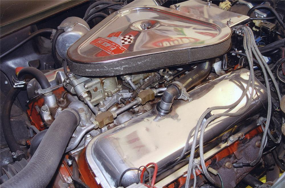 1969 CHEVROLET CORVETTE 427/400 COUPE - Engine - 44039