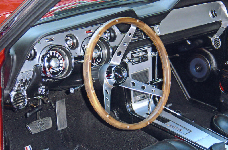 1967 FORD MUSTANG GTA FASTBACK - Interior - 44045