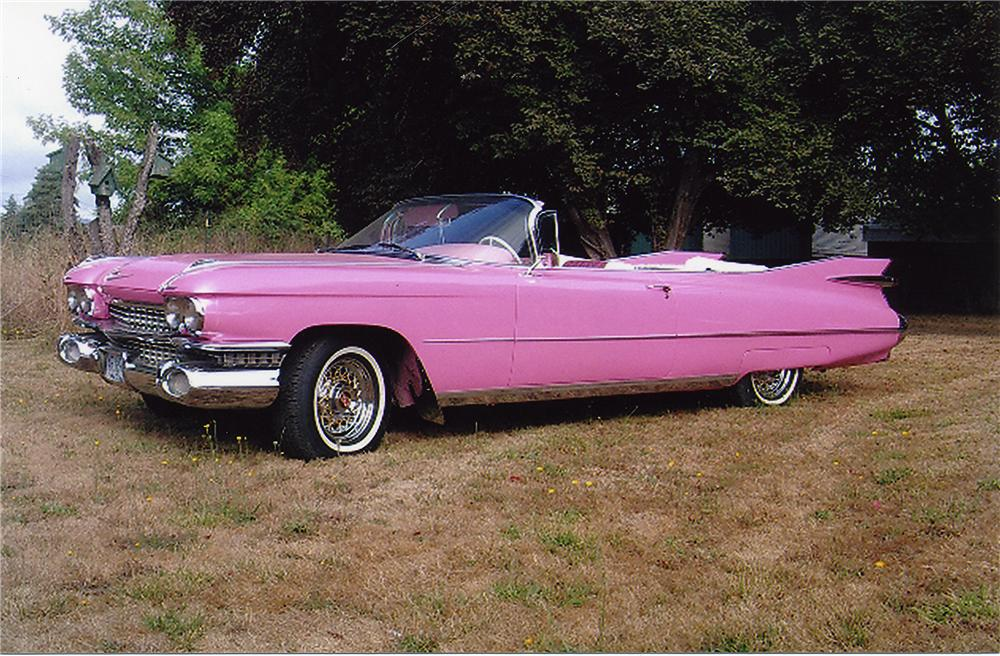 1959 CADILLAC SERIES 62 2 DOOR CONVERTIBLE - 44050