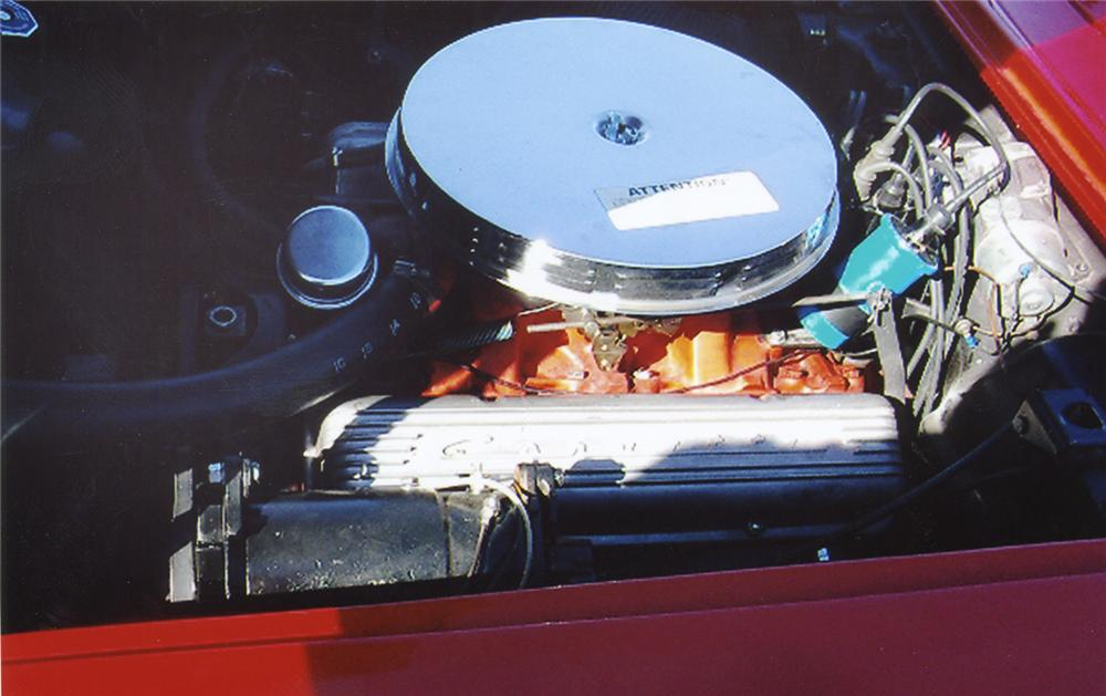 1959 CHEVROLET CORVETTE CONVERTIBLE - Engine - 44051