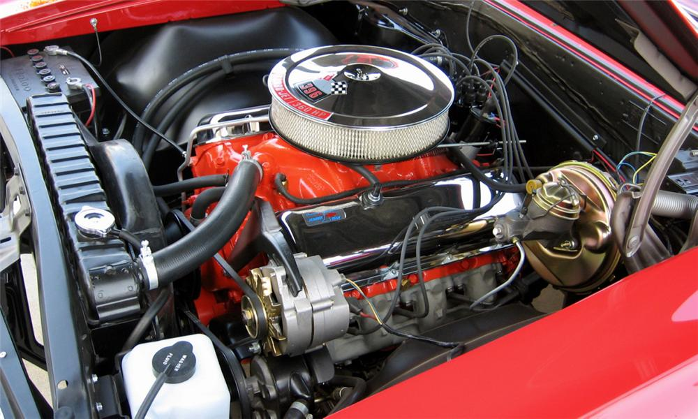1966 CHEVROLET CHEVELLE SS 396 CONVERTIBLE - Engine - 44062