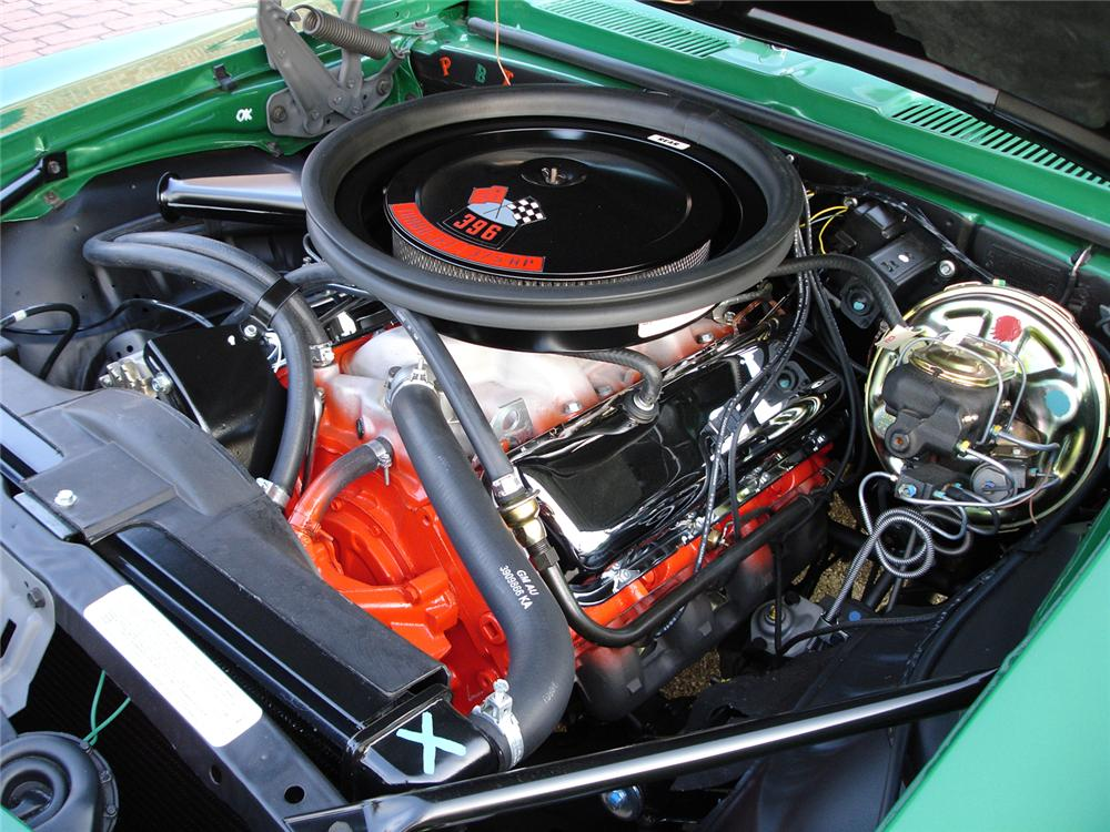 1969 CHEVROLET CAMARO SS 2 DOOR COUPE - Engine - 44074