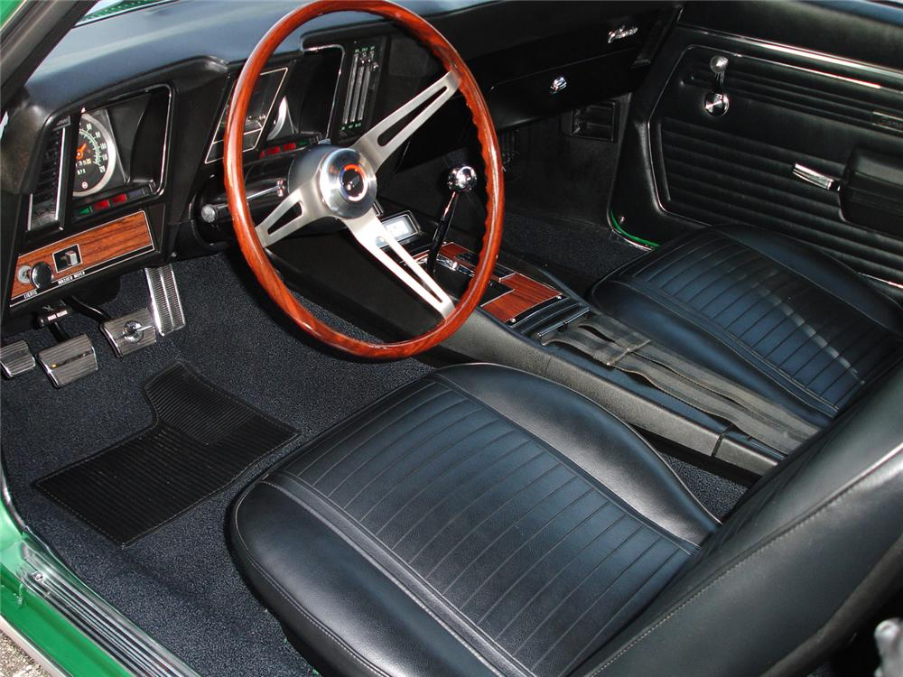 1969 CHEVROLET CAMARO SS 2 DOOR COUPE - Interior - 44074