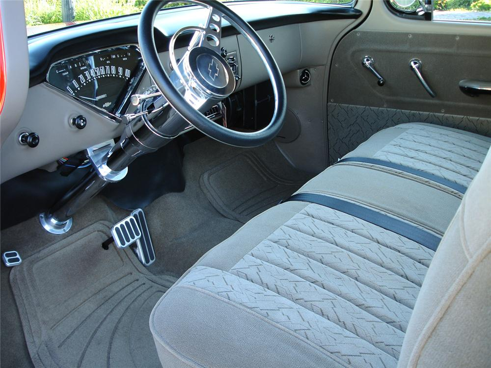 1955 CHEVROLET 3100 CUSTOM PICKUP - Interior - 44076