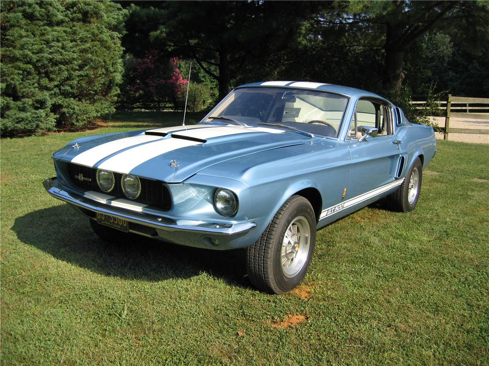 1967 SHELBY GT500 FASTBACK - Front 3/4 - 44077