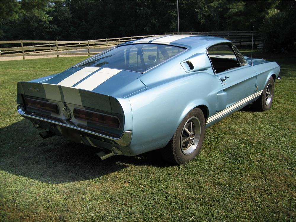 1967 SHELBY GT350 FASTBACK - Rear 3/4 - 44078