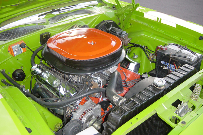 1971 PLYMOUTH GTX 2 DOOR HARDTOP - Engine - 44085
