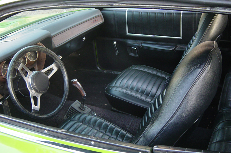 1971 PLYMOUTH GTX 2 DOOR HARDTOP - Interior - 44085