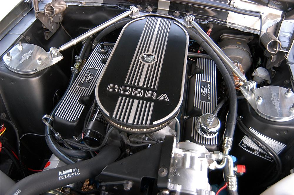 1967 FORD MUSTANG FASTBACK RE-CREATION - Engine - 44087