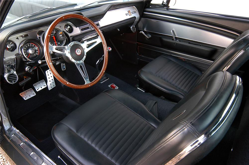 1967 FORD MUSTANG FASTBACK RE-CREATION - Interior - 44087