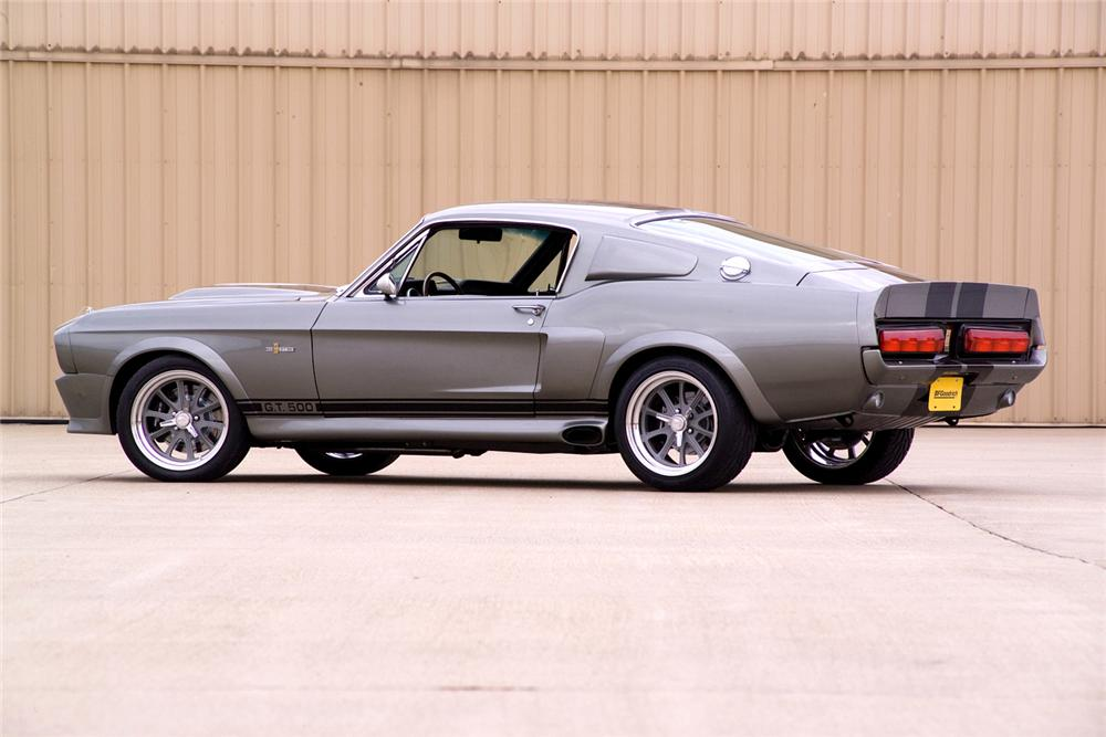 1967 FORD MUSTANG FASTBACK RE-CREATION - Rear 3/4 - 44087