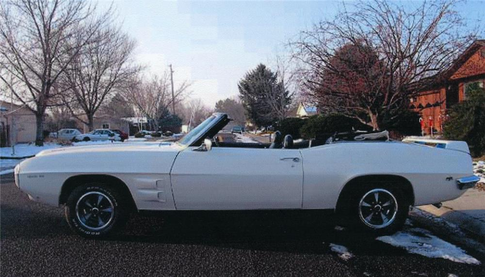 1969 PONTIAC TRANS AM CONVERTIBLE RE-CREATION - Side Profile - 44094