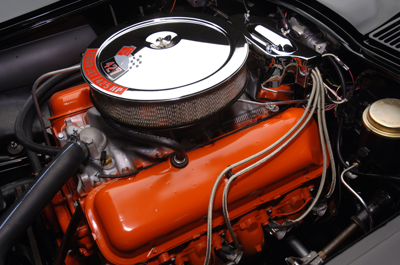 1966 CHEVROLET CORVETTE 427/425 CONVERTIBLE - Engine - 44096
