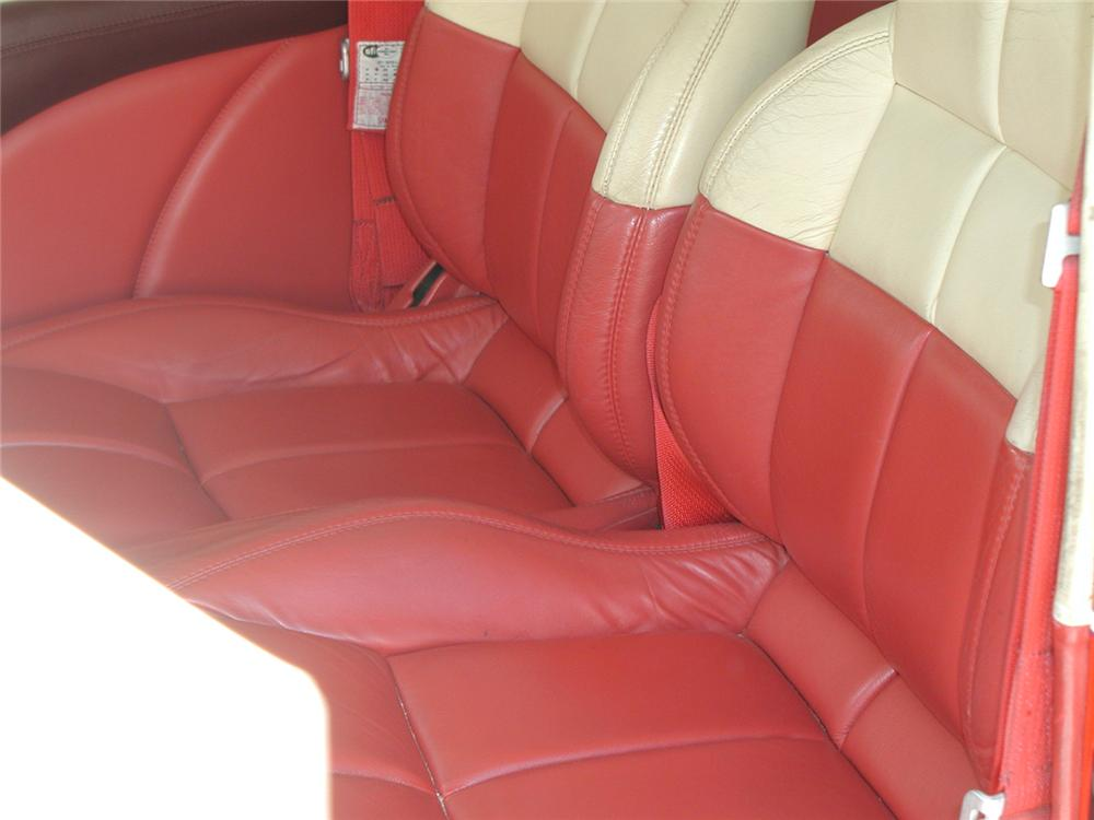 1932 FORD CUSTOM 2 DOOR SEDAN - Interior - 44098