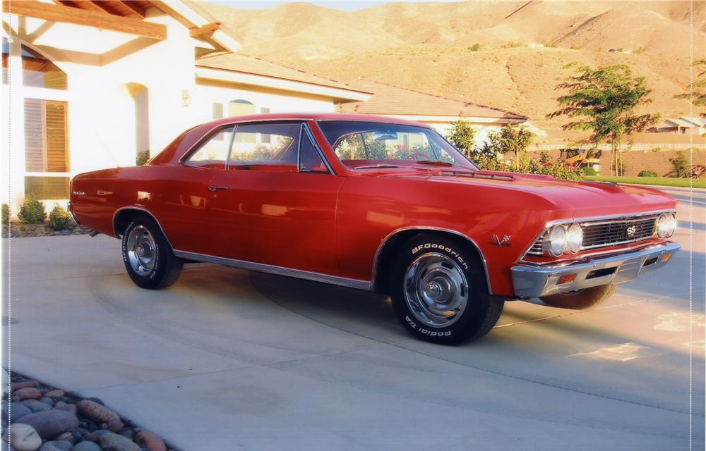 1966 CHEVROLET CHEVELLE SS 396 HARDTOP - Front 3/4 - 44102