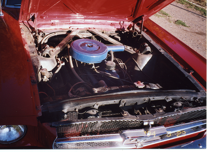 1965 FORD MUSTANG COUPE - Engine - 44136