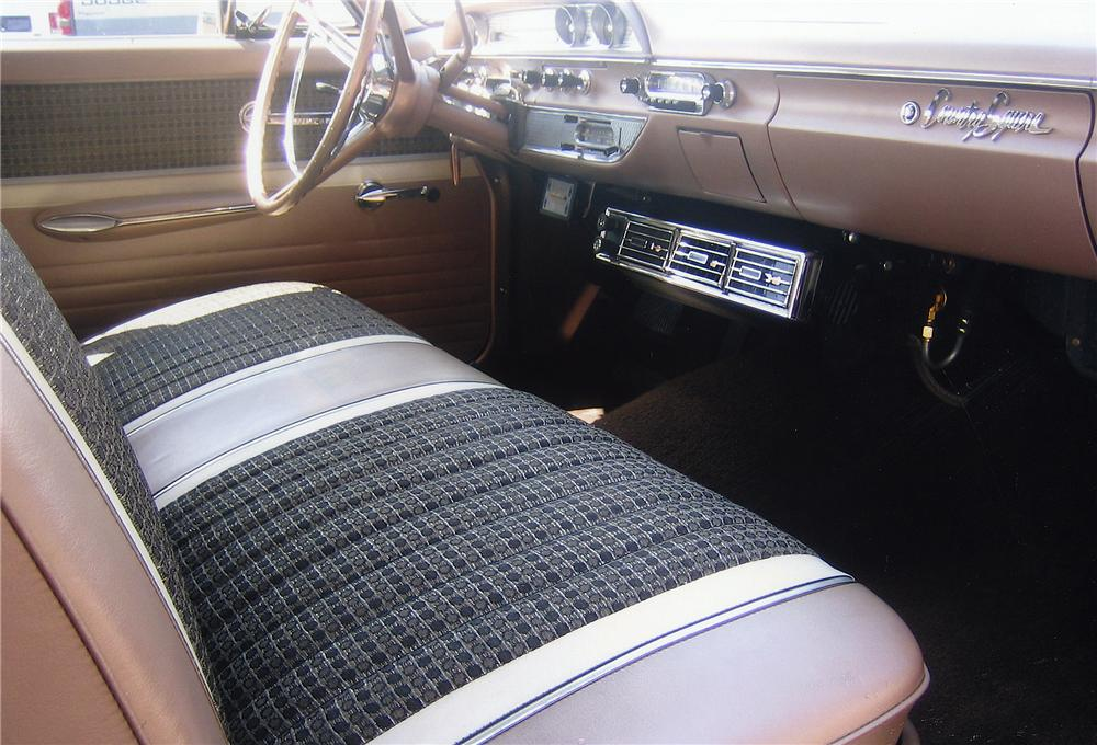 1962 FORD COUNTRY SQUIRE CUSTOM WAGON - Interior - 44141
