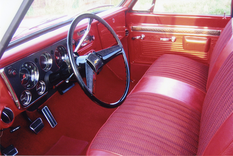 1971 CHEVROLET CUSTOM PICKUP - Interior - 44143