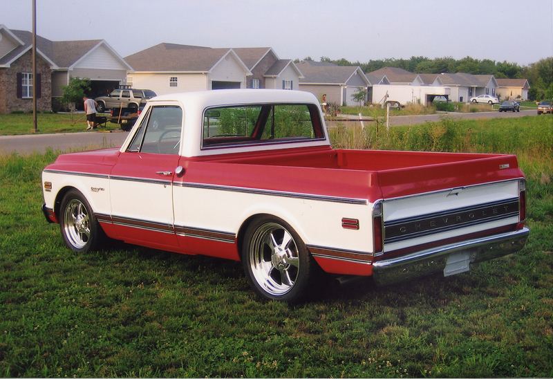 1971 CHEVROLET CUSTOM PICKUP - Rear 3/4 - 44143