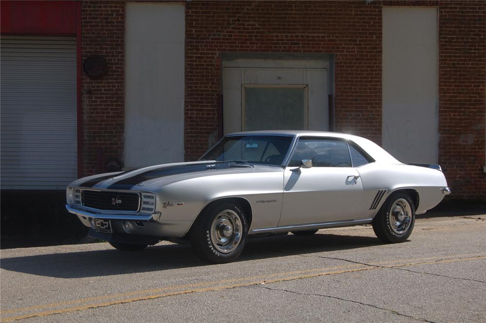 1969 CHEVROLET CAMARO Z/28 RS COUPE - Side Profile - 44147