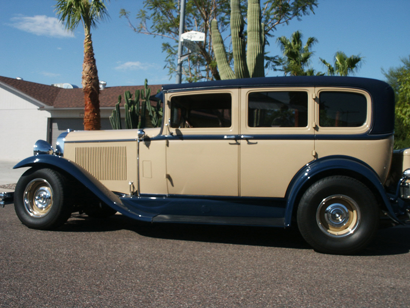 1930 buick 40 custom 4 door sedan 44160