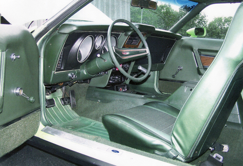1971 FORD MUSTANG MACH 1 FASTBACK - Interior - 44176