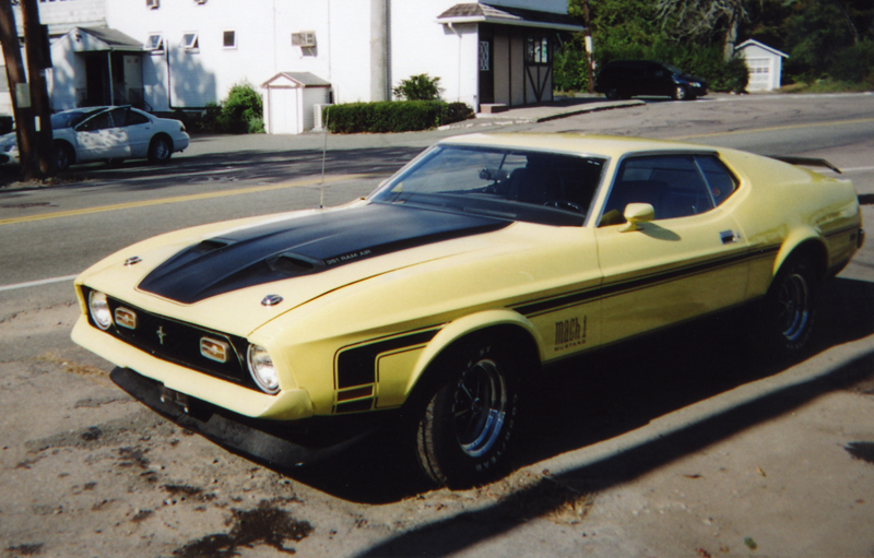 1971 FORD MUSTANG MACH 1 FASTBACK - Misc 1 - 44185