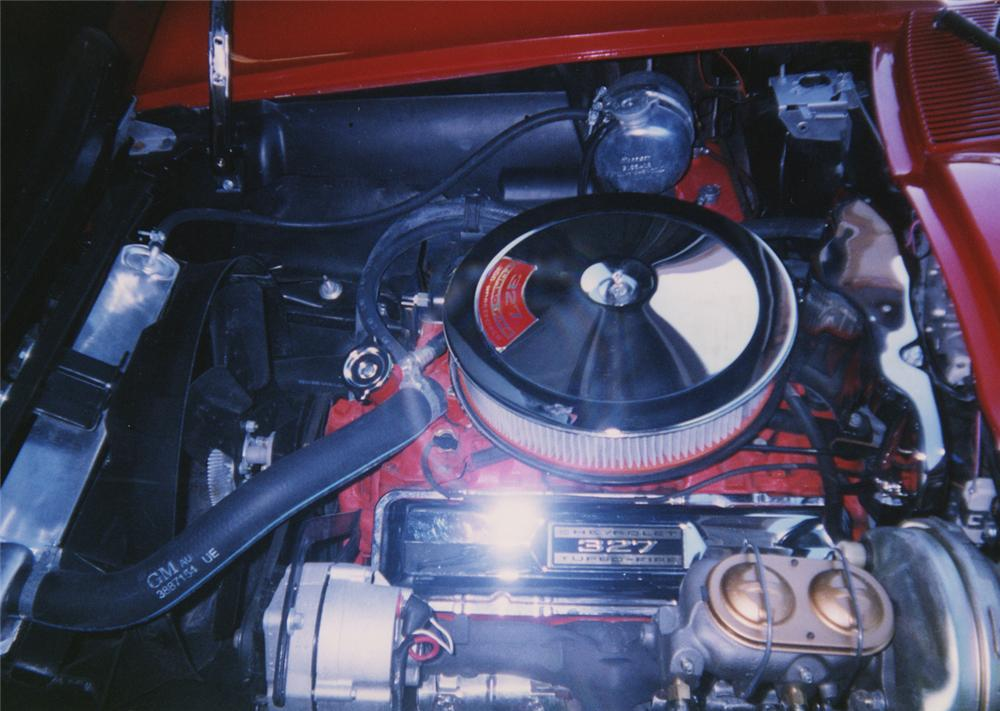 1966 CHEVROLET CORVETTE CONVERTIBLE - Engine - 44190