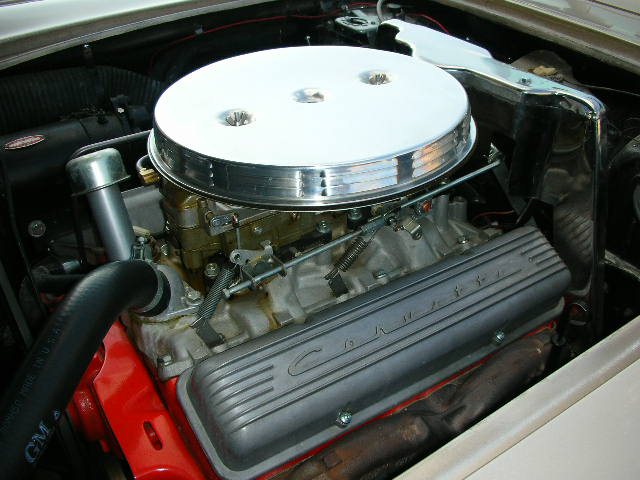 1961 CHEVROLET CORVETTE CONVERTIBLE - Engine - 44191
