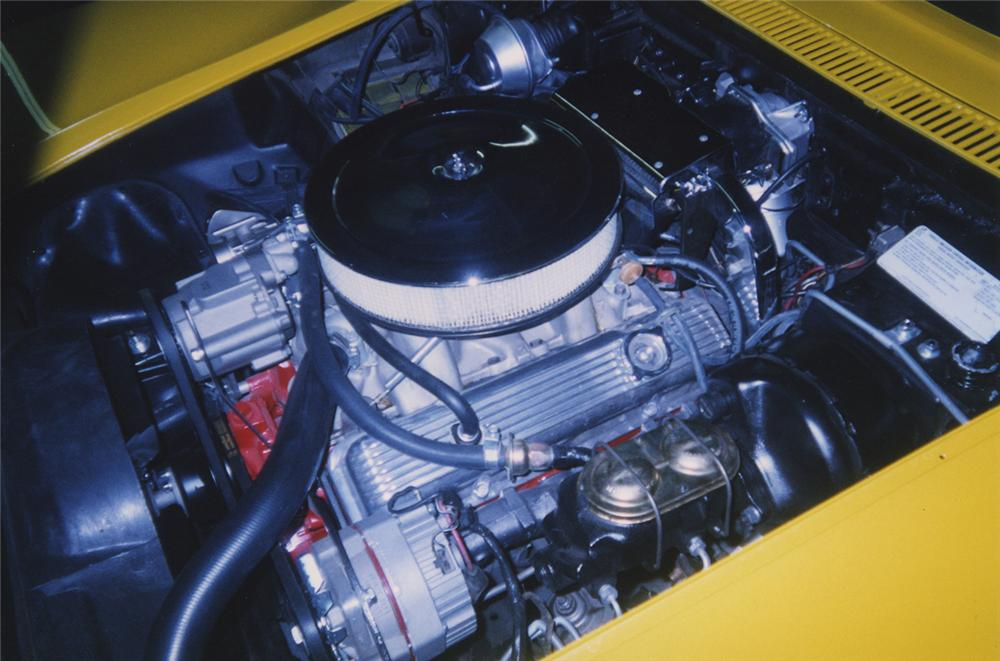 1972 CHEVROLET CORVETTE LT1 CONVERTIBLE - Engine - 44195