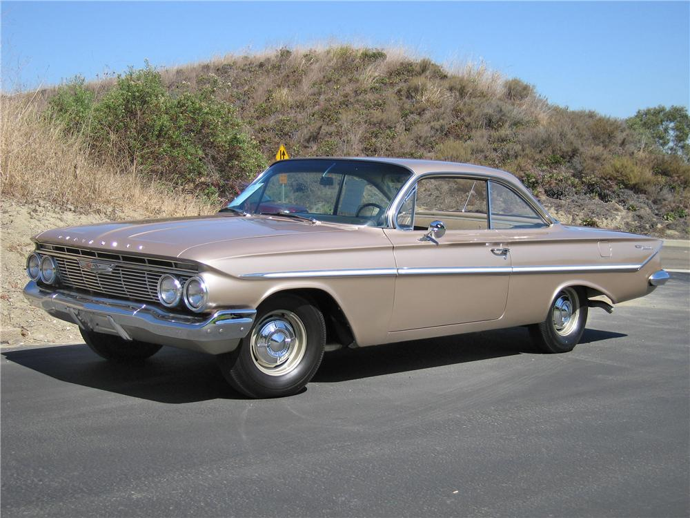 1961 CHEVROLET BEL AIR BUBBLE TOP - Front 3/4 - 44214