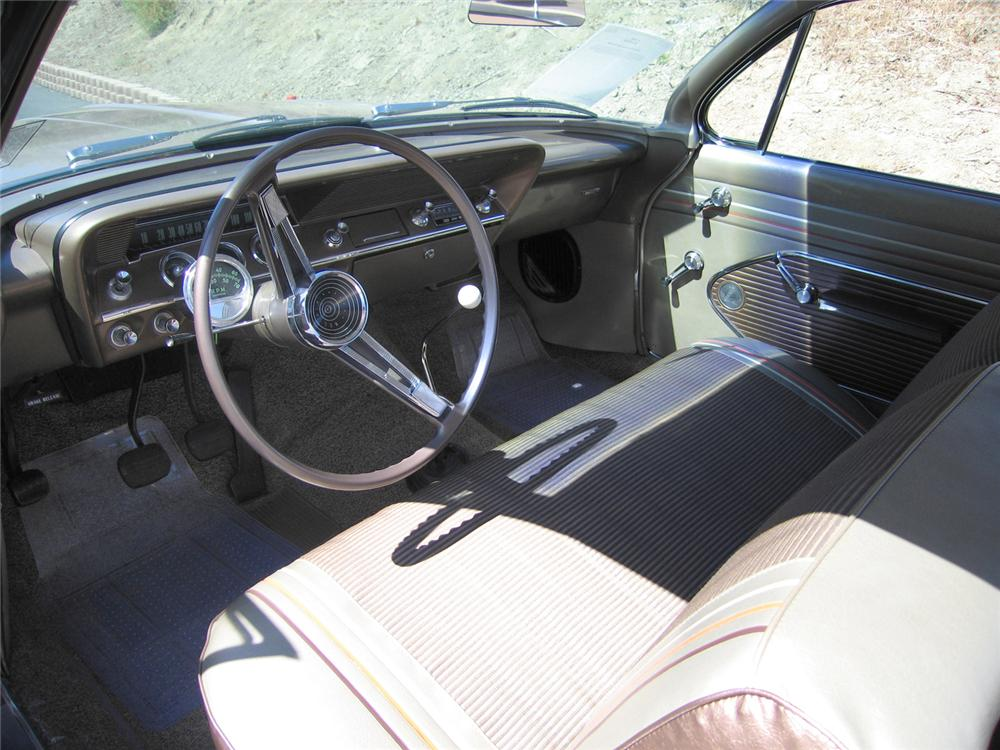 1961 CHEVROLET BEL AIR BUBBLE TOP - Interior - 44214
