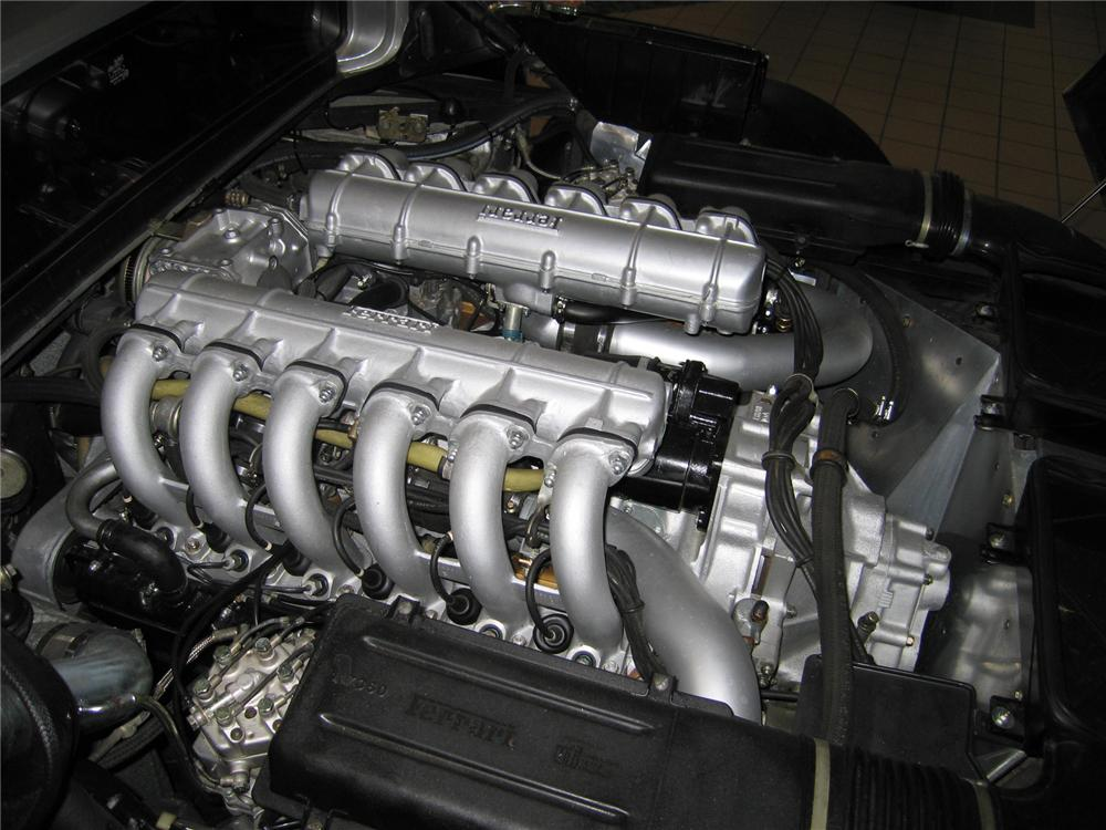 1984 FERRARI 512 BBI COUPE - Engine - 44216