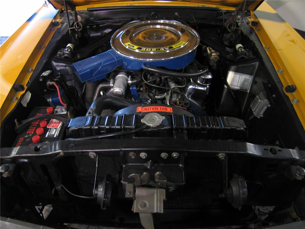 1970 FORD MUSTANG BOSS 302 FASTBACK - Engine - 44217