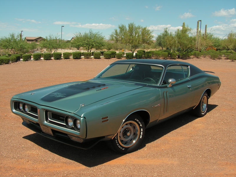 1971 DODGE CHARGER R/T 2 DOOR HARDTOP - Front 3/4 - 44230