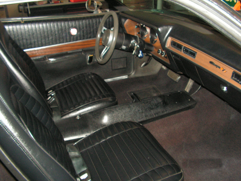 1971 DODGE CHARGER R/T 2 DOOR HARDTOP - Interior - 44230